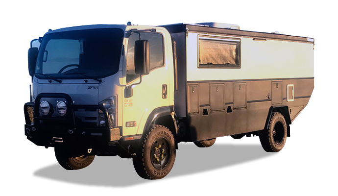 custom offroad expedition trucks