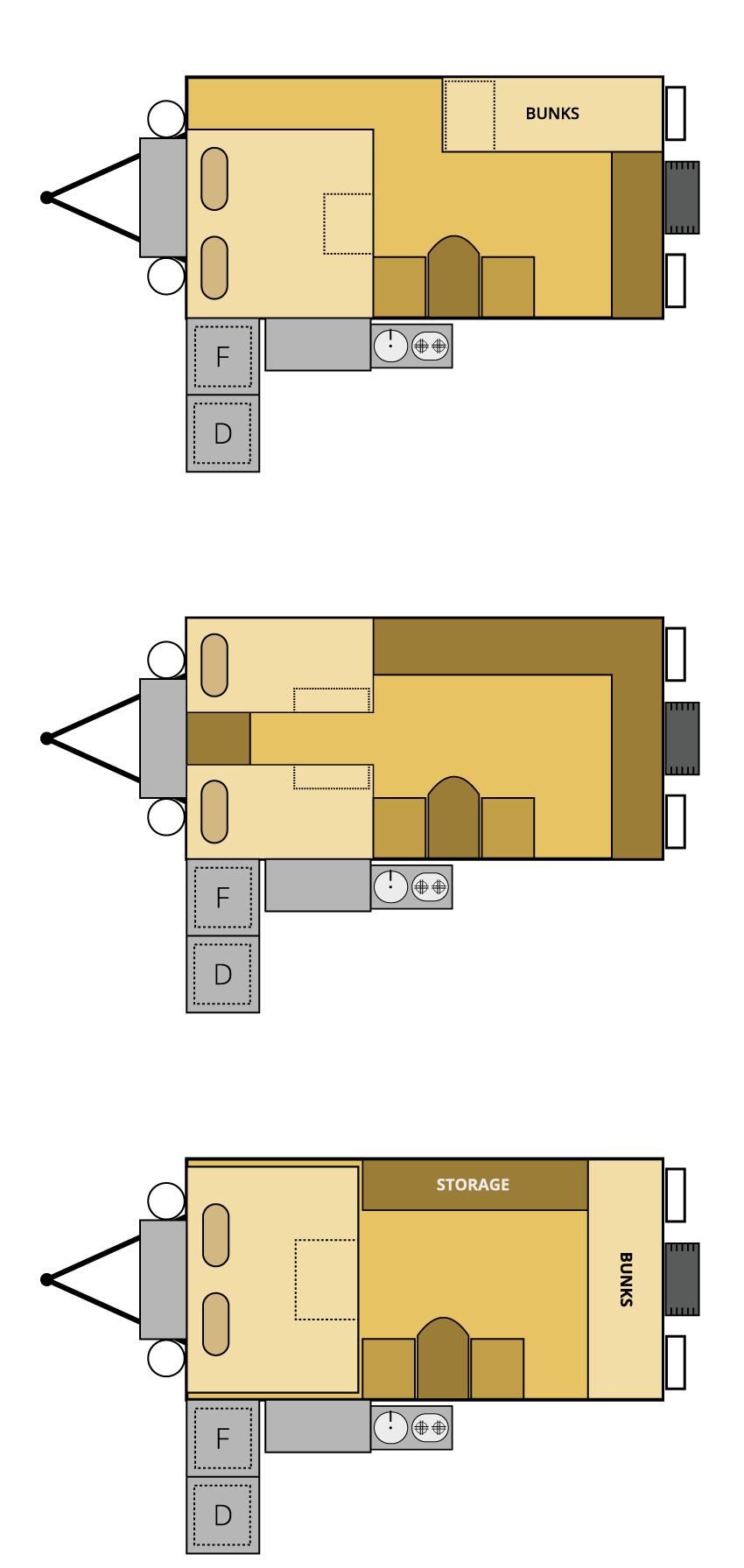 ranger offroad camper trailer floor plan