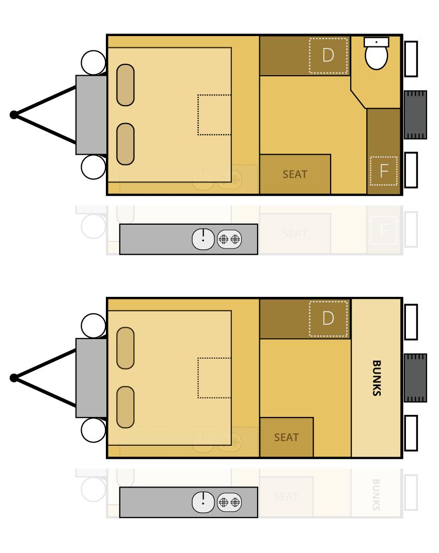 sniper x.14 offroad camper trailer floor plan