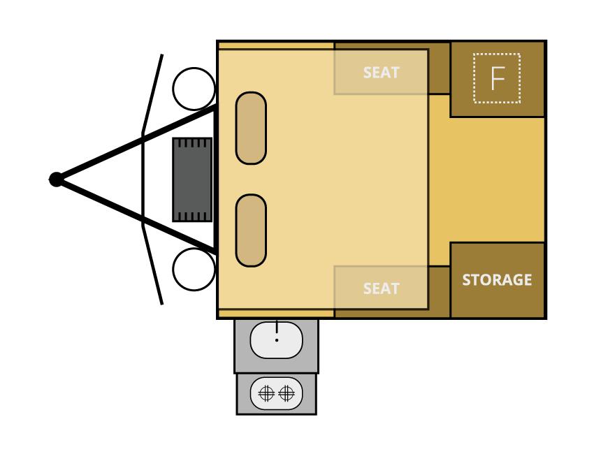 sniper x.9 offroad camper trailer floor plan