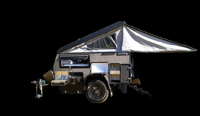 sniper x9 offroad camper trailer