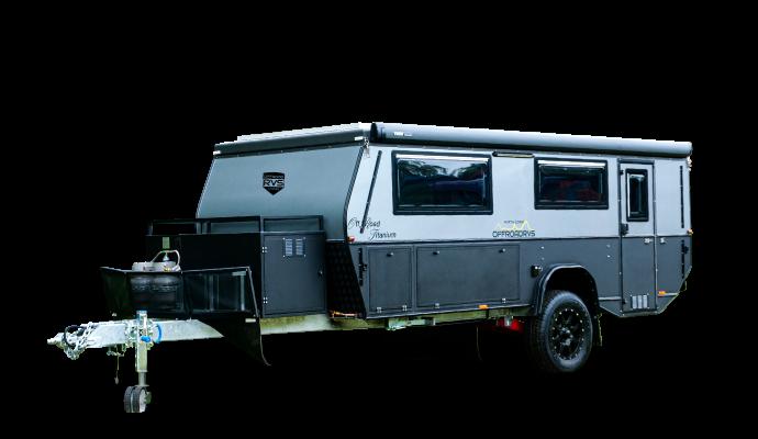 titanium offroad camper trailer