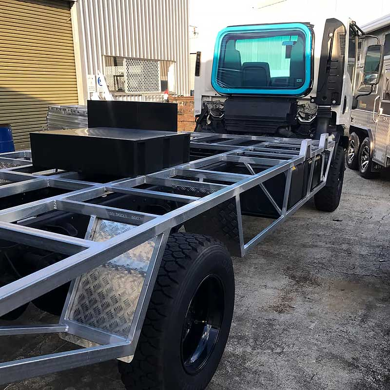 Expedition Truck Custom Chassis