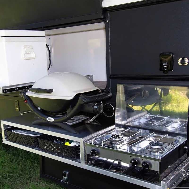 Expedition Truck External Kitchen