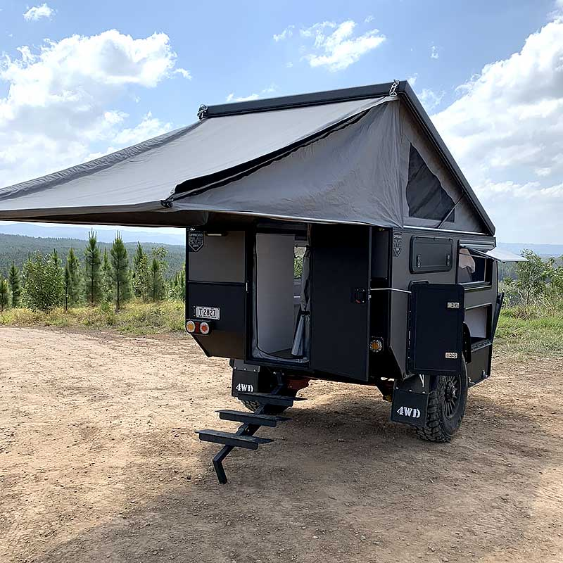 offroad rvs sniper x9 rear stairs