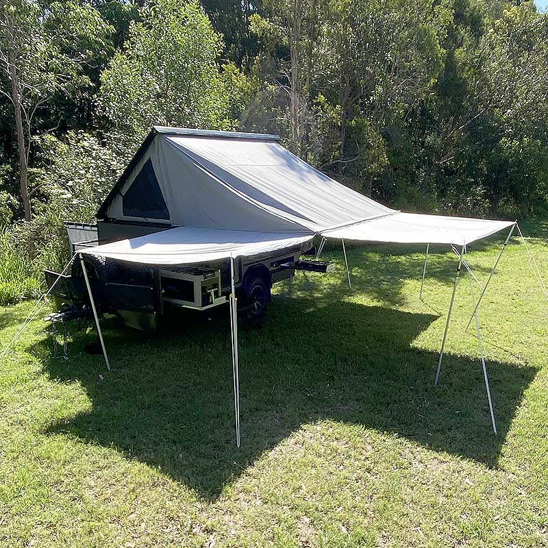 rvs x11 offroad camper trailer awnings