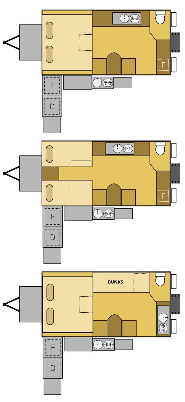 x15 offroad camper trailer rvs